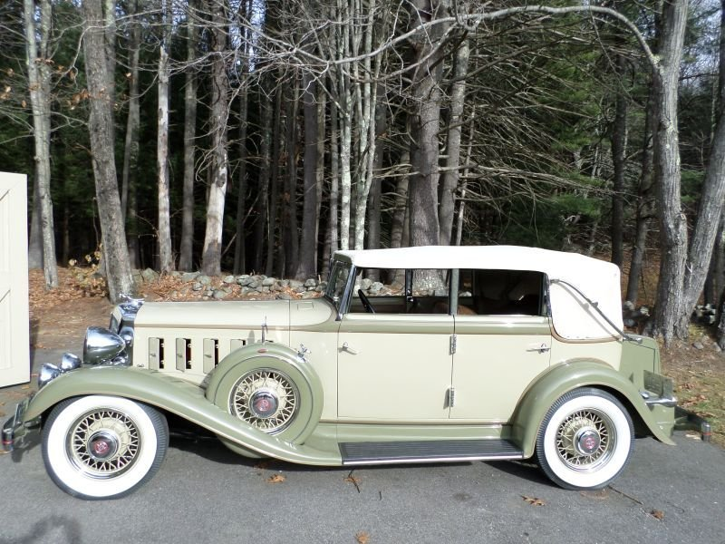 1933 Chrysler CQ Convertible Sedan