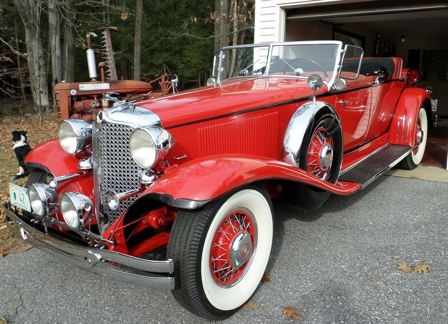 1931 Chrysler CG Imperial LeBaron Roadster