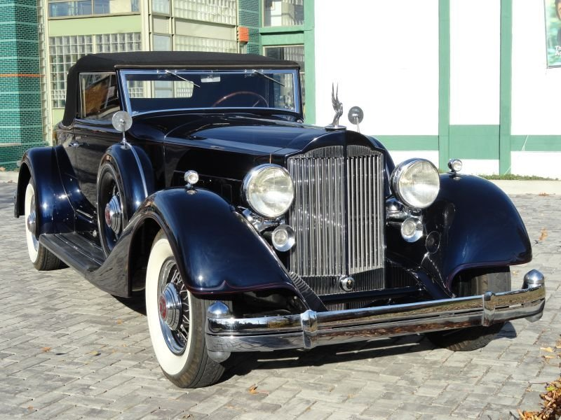 1934 Packard 1107 Coupe Roadster