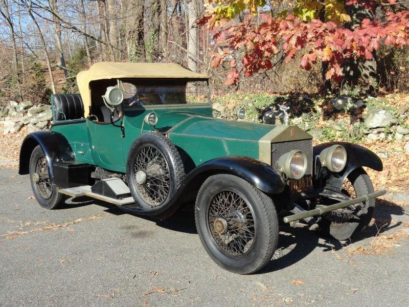 1920 Rolls-Royce Silver Ghost Roadster by Barker