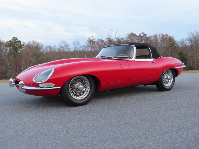 1966 Jaguar E Type OTS Roadster
