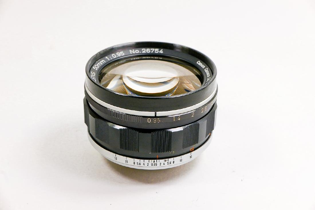 Canon 50mm Canon lens f0,95 Nr. 26754