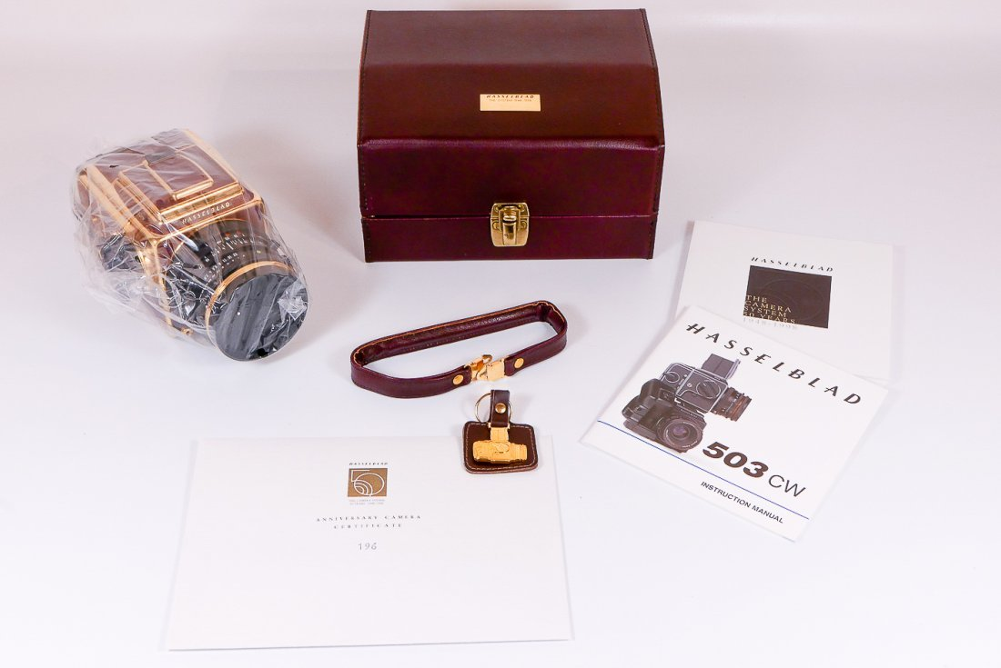 Hasselblad 503cw Gold Supreme 50th Anniversary Set