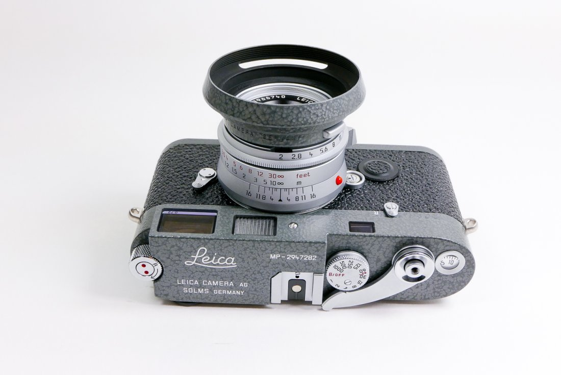Leica MP .72 Hammertone Grey set