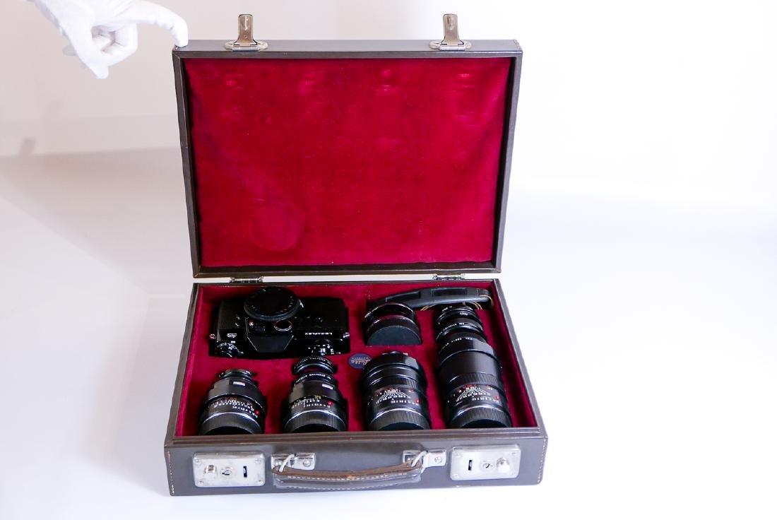 Leica Salesman Leicaflex Presentation Case
