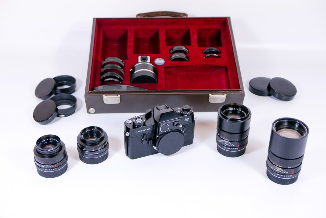 Leica Salesman Leicaflex Presentation Case - 3