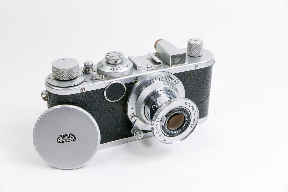"Leica ""Postwar Standard"" with Wollensak 50mm"