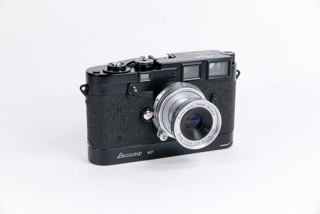 Leica MP Nr. 50 in black enamel finish