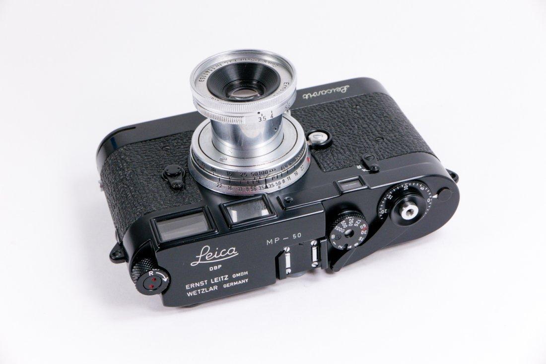 Leica MP Nr. 50 in black enamel finish - 2