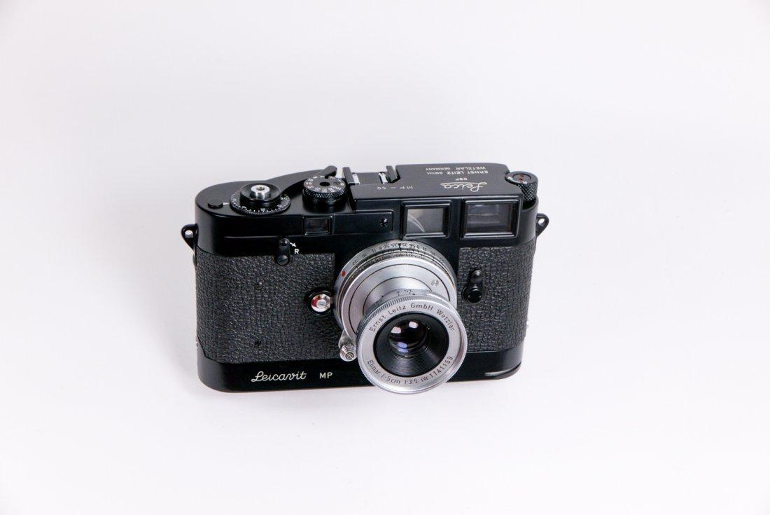 Leica MP Nr. 50 in black enamel finish - 3