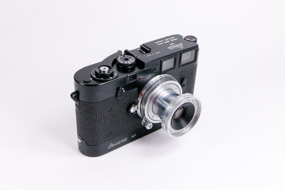 Leica MP Nr. 50 in black enamel finish - 4