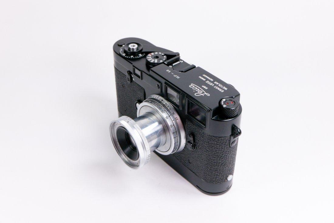 Leica MP Nr. 50 in black enamel finish - 5