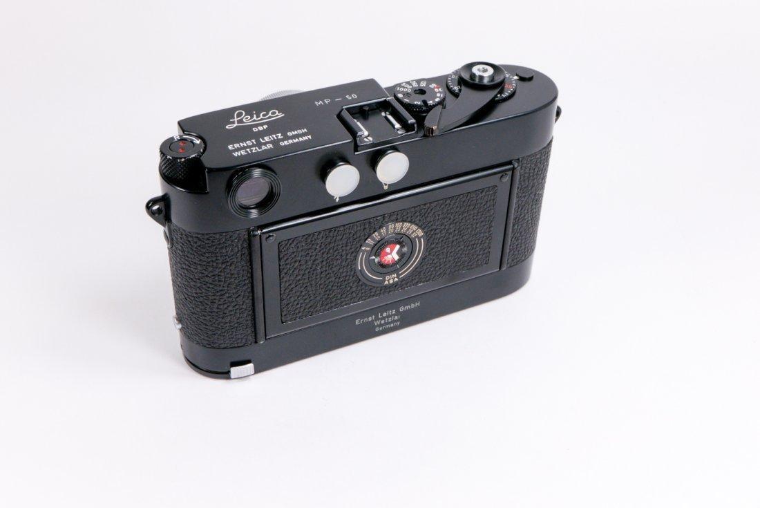Leica MP Nr. 50 in black enamel finish - 6