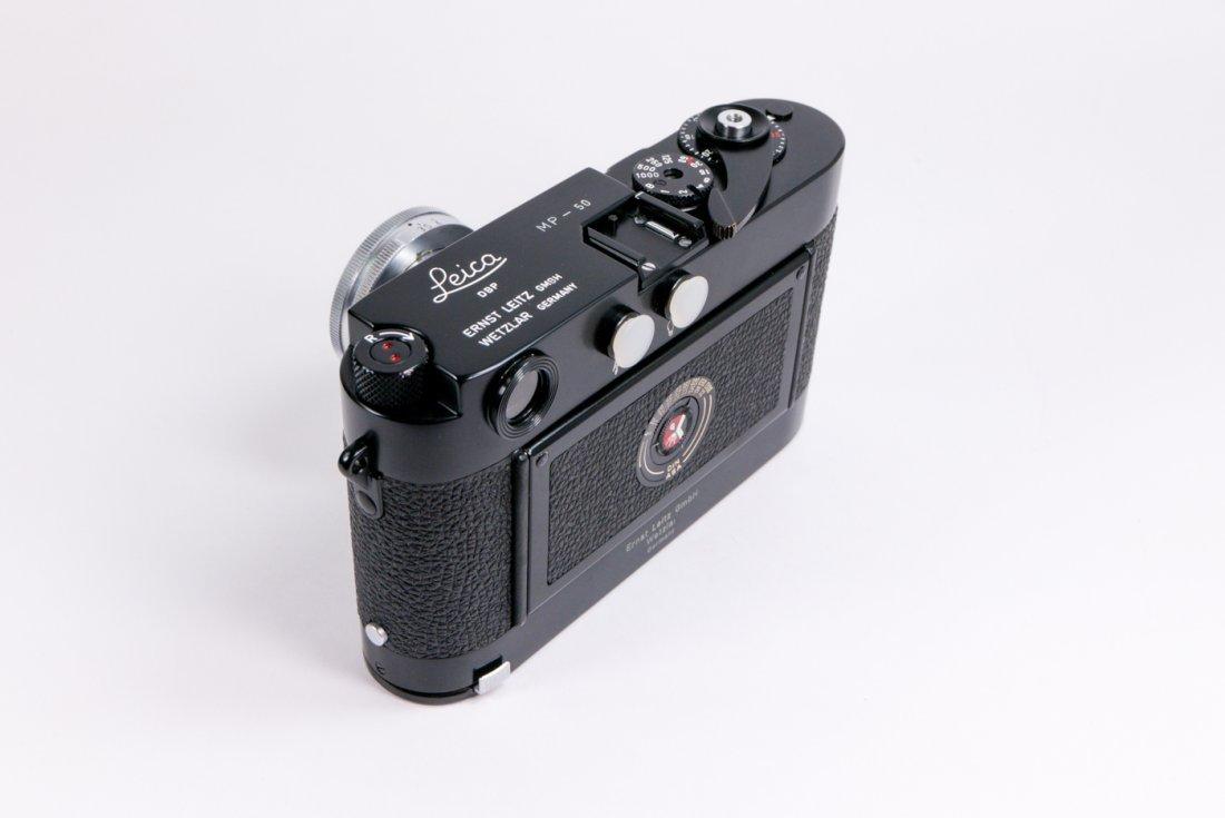 Leica MP Nr. 50 in black enamel finish - 8