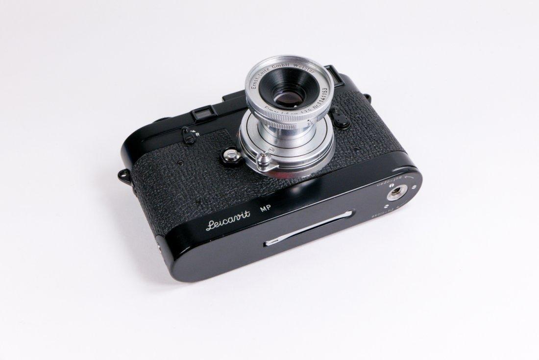 Leica MP Nr. 50 in black enamel finish - 9