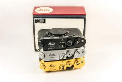 "Set of Three Leica M4-2 ""25 Jahre Midland Ontario"""