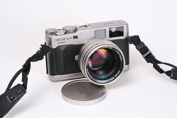 14: Konica Hexar RF Limited Titanium. Nr. 1467/2001