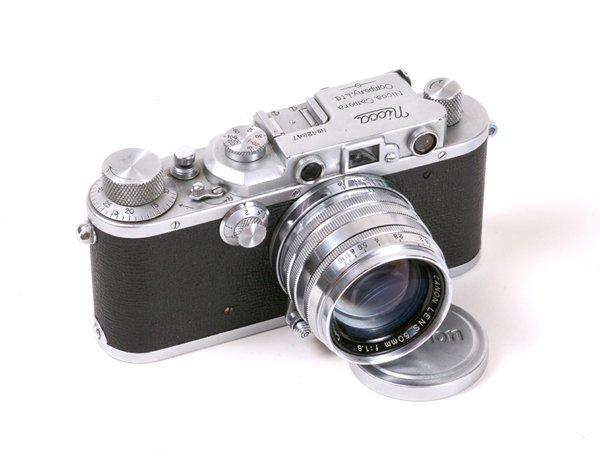 1: Nicca IIIA Nr. 42847 with 50mm Canon f1,8 Nr. 89978