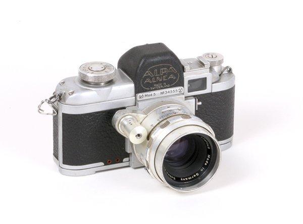 5: Alpa 5 Nr. 34555 with 50mm Schneider f1,9.