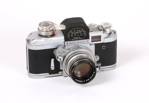 7: Alpa 8b Nr. 40443 with 50mm Kern Switar f1,8.