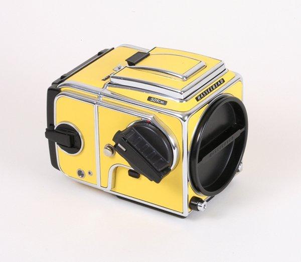 155: Hasselblad 501CM Yellow Nr. 10SV255595.