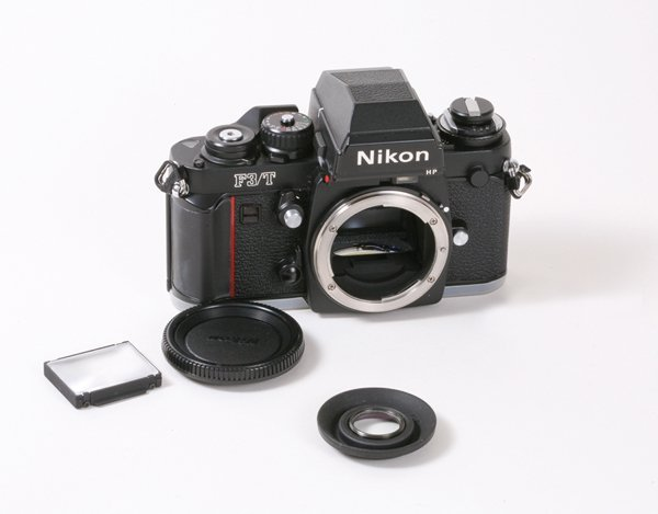 198: Nikon F3T Nr.T8511074 with box with MD-4.