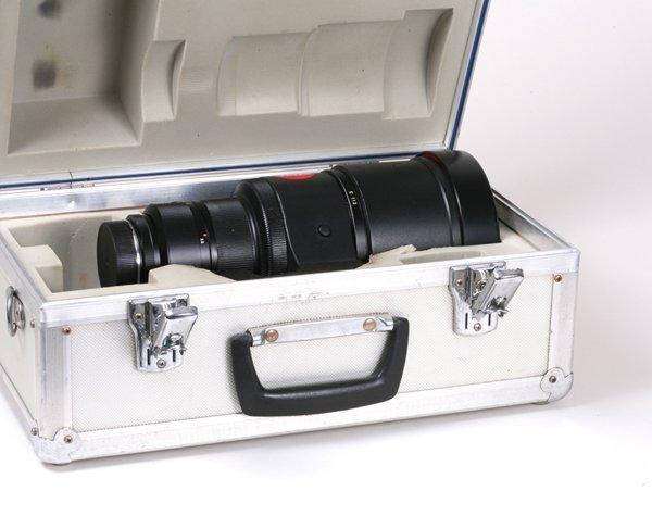 286: 280mm APO-Telyt-R f2,8 Nr. 3280514 in metal case.