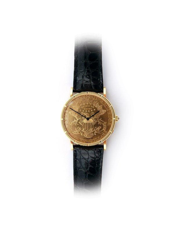 Corum 25th Anniversary Gold Coin.