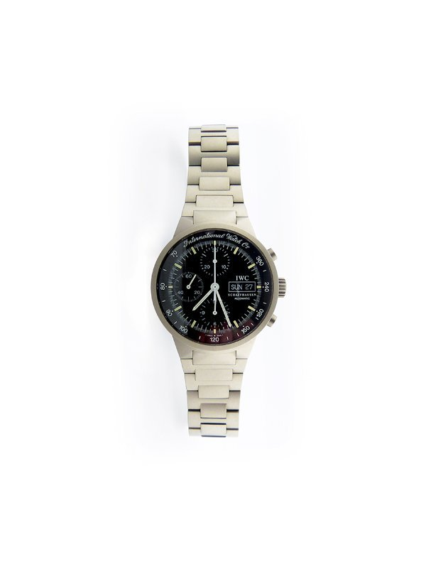 IWC,Titanium GST Chronograph.