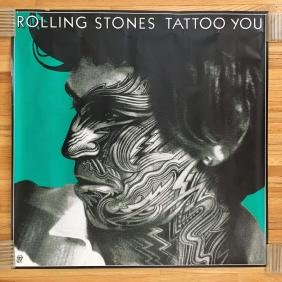 Rolling Stones Tattoo You Poster