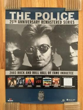 The Police 2003 Promo Poster