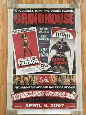 Quentin Tarentino Grindhouse Movie Poster