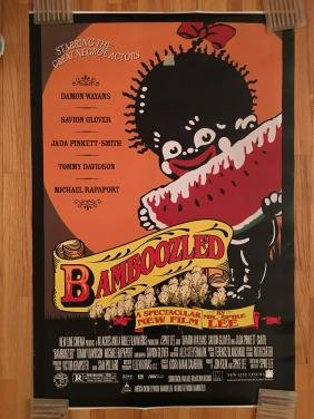 Spike Lee Bamboozled Movie Poster
