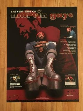 Marvin Gaye Promo Poster