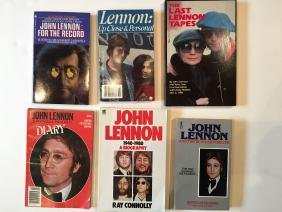 6 John Lennon Books
