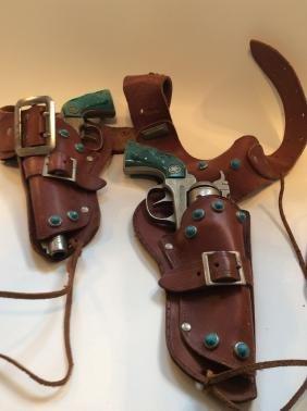 Colt 38 Cowboy Cap Gun Set
