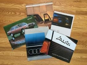 AUDI Automobile Advertising Brochures