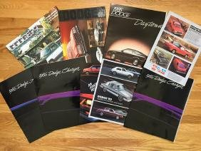 DODGE Automobile Advertising Brochures