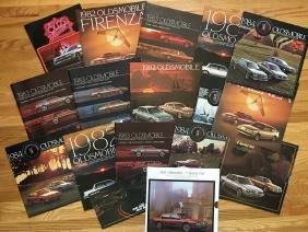 OLDSMOBILE Automobile Advertising Brochures