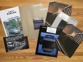 VOLVO Automobile Advertising Brochures