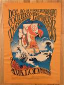 Country Joe  the Fish Concert Poster FD41