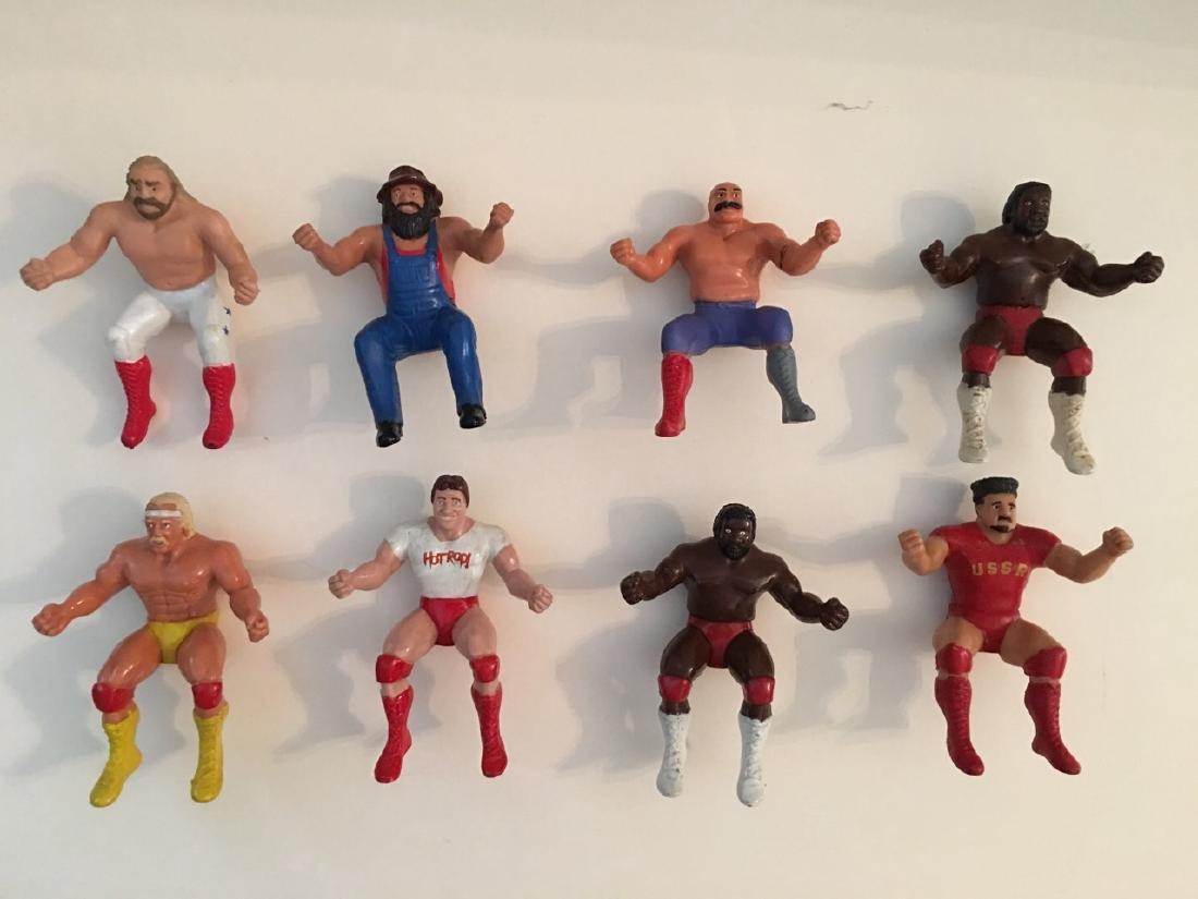 WWF WWE WRESTLER FINGER PUPPET 1985 TITANSPORTS