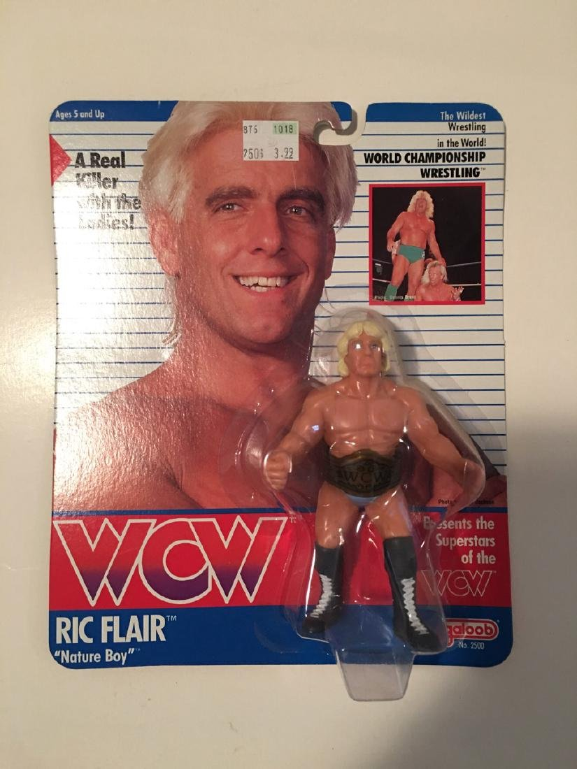 WCW WWF WRESTLING CHARACTER - RIC FLAIR