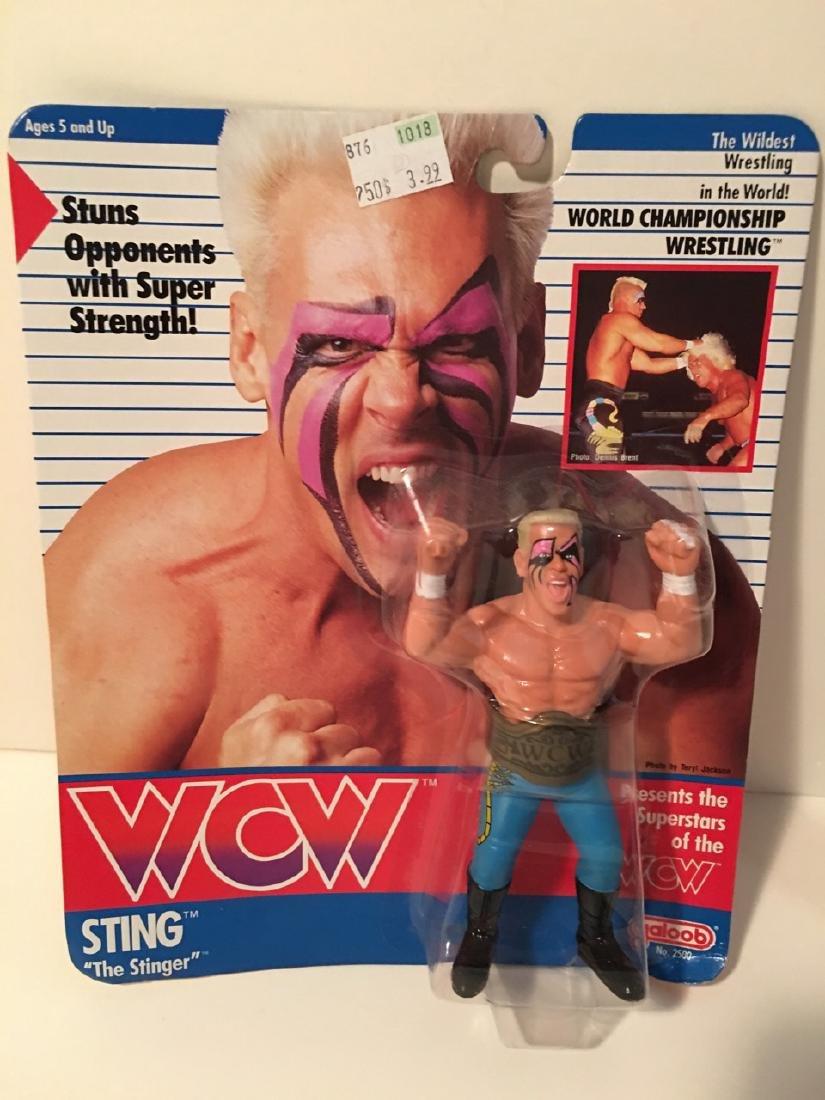 WCW WWF WRESTLING CHARACTER - STING - THE STINGER