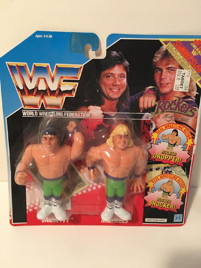 WWF WRESTLING CHARACTER - THE ROCKERS