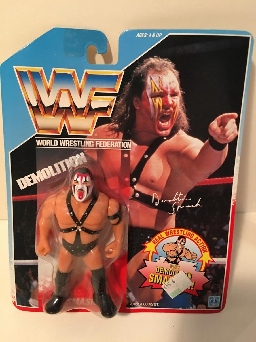 WWF WRESTLING CHARACTER - DEMOLITION SMASH