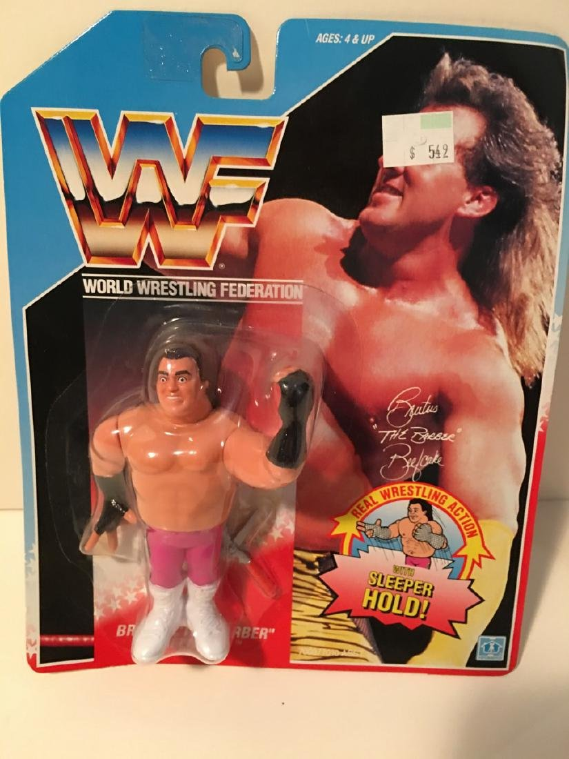 """WWF WRESTLING CHARACTER - BRUTUS """"THE BEEFCAKEâ€"""