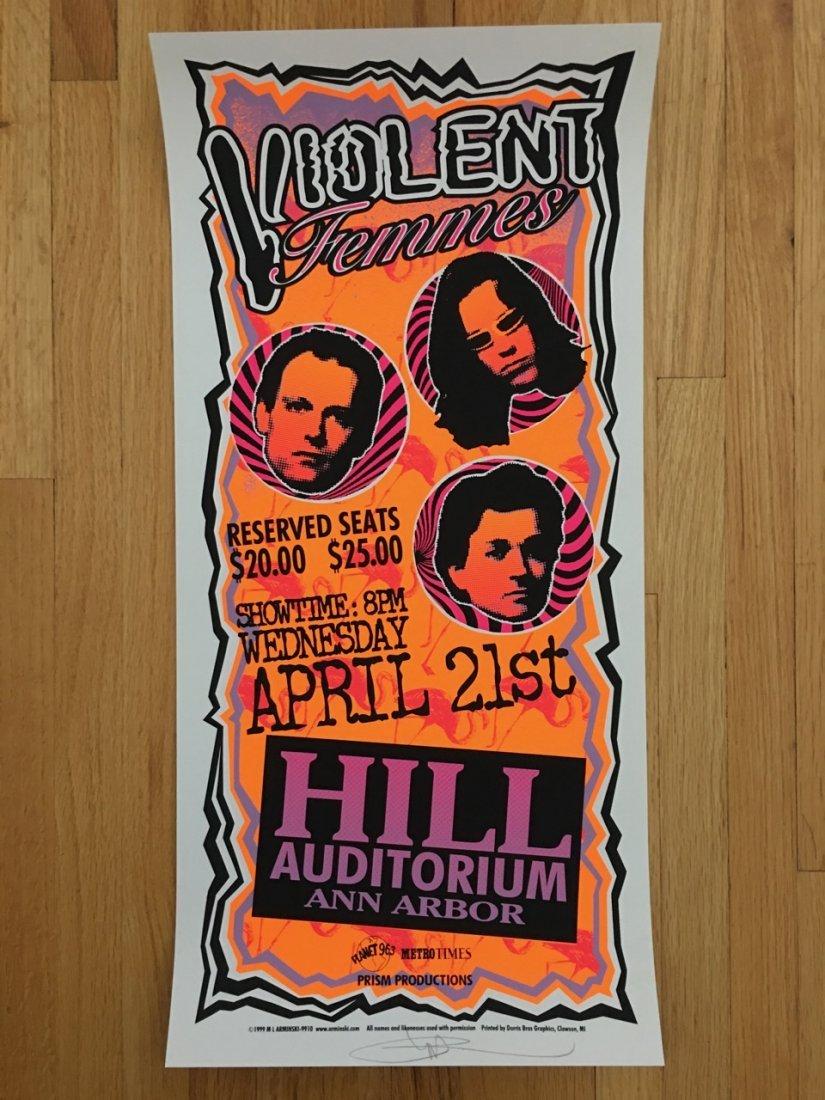 VIOLENT FEMMES, Ann Arbor, MI, 1999 - MARK ARMINSKI