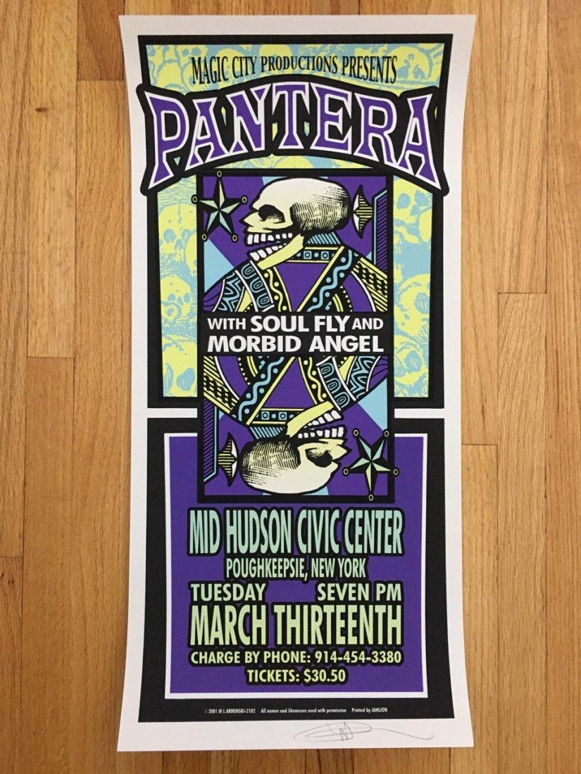 PANTERA, Poughkeepsie, NY, 2001 - MARK ARMINSKI