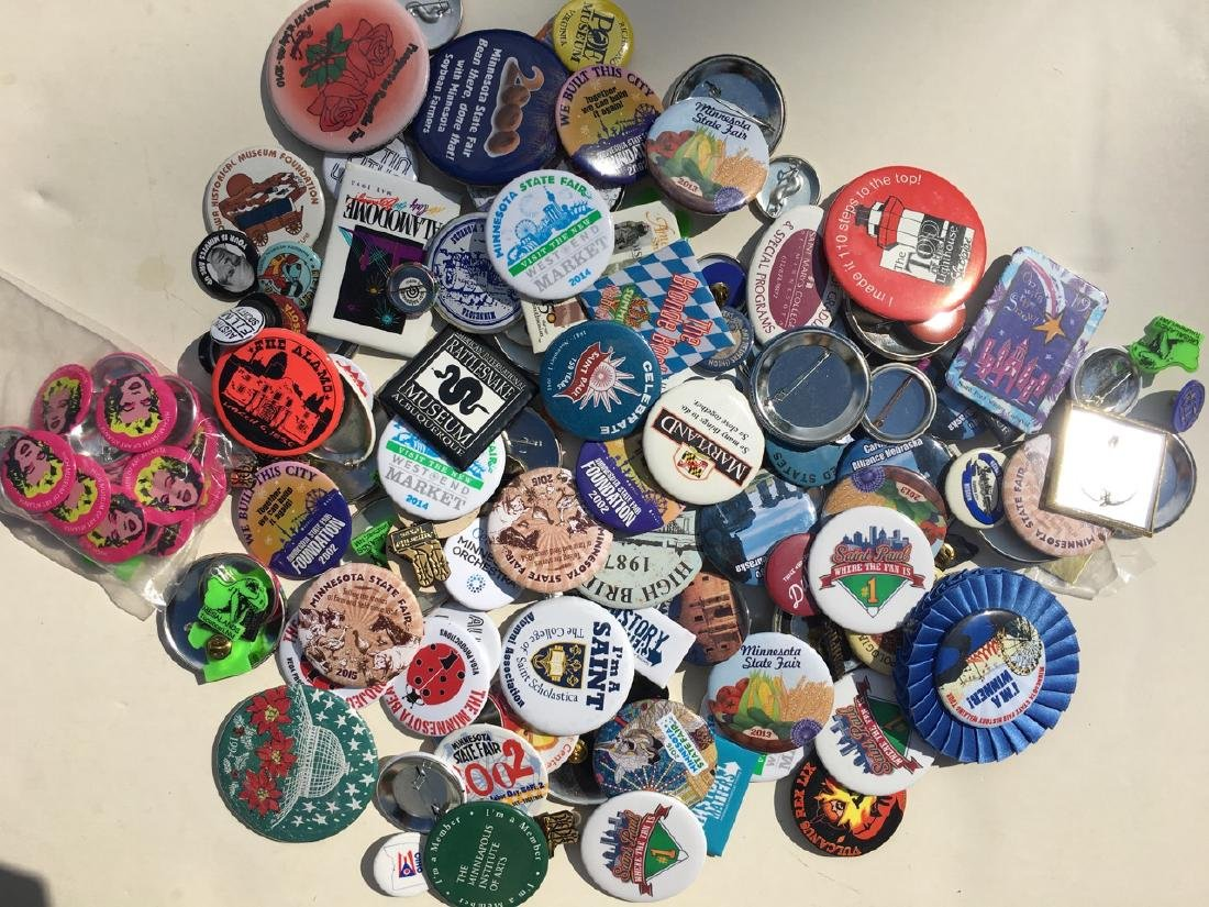 TRAVEL / LOCATION / PLACES BUTTON COLLECTION FROM USA